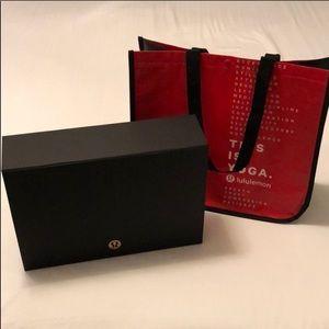 Extra Large Lululemon Gift Box and Gift Bag Set